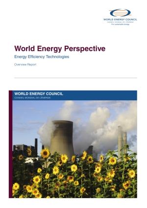 Energy efficiency technologies: overview report