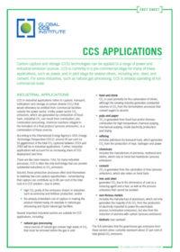 CCS applications