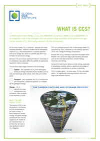What is CCS?