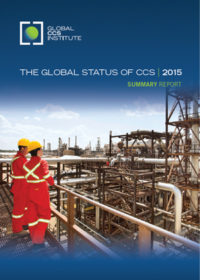 The global status of CCS: 2015 summary report