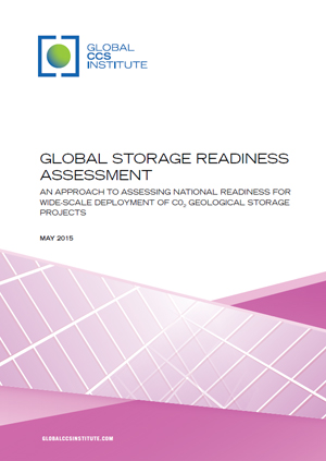 Global storage readiness assessment: an approach to assessing national readiness for wide-scale deployment of CO2 geological storage projects