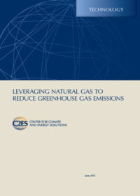 Leveraging natural gas to reduce greenhouse gas emissions