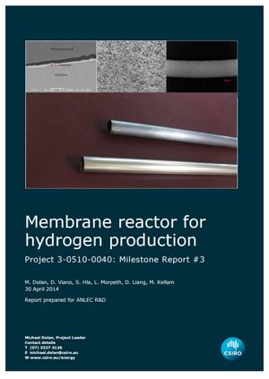 Membrane reactor for hydrogen production