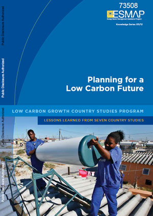 Planning for a low carbon future. Low carbon growth country studies program: lessons learned from seven country studies