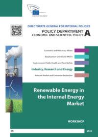 Renewable energy in the internal energy market
