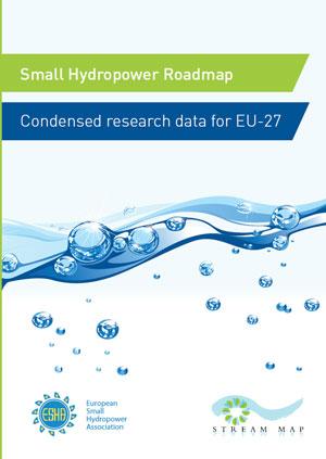 Small hydropower roadmap: condensed research data for EU-27
