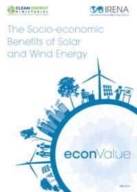 The socio-economic benefits of solar and wind energy