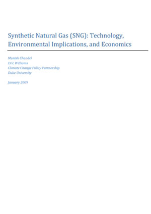 Synthetic natural gas (SNG): technology, environmental implications, and economics