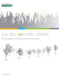 U.S. billion-ton update: biomass supply for a bioenergy and bioproducts industry