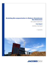 Modelling bio-sequestration to reduce greenhouse gas emissions