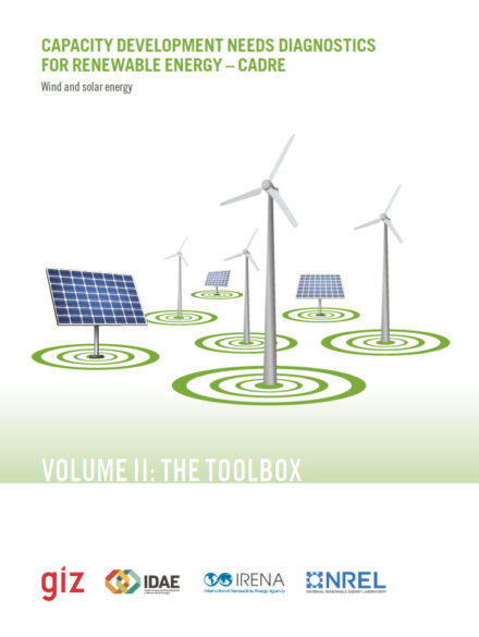 Capacity development needs diagnostics for renewable energy: wind and solar energy. Volume II: the toolbox