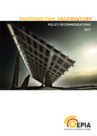 Photovoltaic observatory: policy recommendations