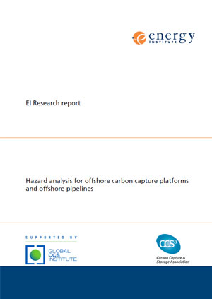 Research report: hazard analysis for offshore carbon capture platforms and offshore pipelines
