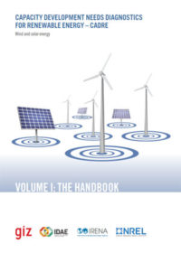 Capacity development needs diagnostics for renewable energy: wind and solar energy. Volume I: the handbook