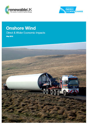 Onshore wind: direct & wider economic impacts