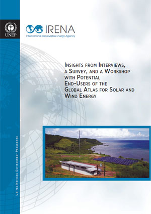 Insights from interviews, a survey and a workshop with potential end-users of the global atlas for solar and wind energy