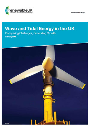 Wave and tidal energy in the UK: conquering challenges, generating growth