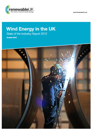 Wind energy in the UK: state of the industry report 2012