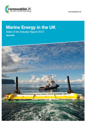 Marine energy in the UK: state of the industry report 2012