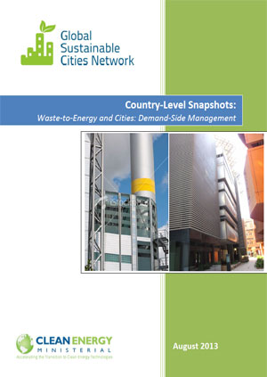 Country-level snapshots: waste-to-energy and cities: demand-side management