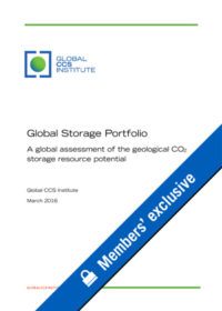 Global storage portfolio: a global assessment of the geological CO2 storage resource potential