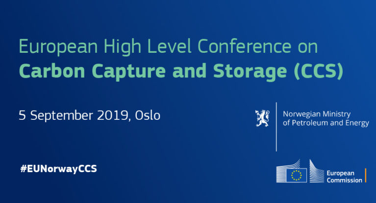 European High Level Conference on Carbon Capture and Storage