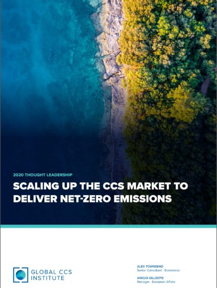 Scaling up the CCS Market to Deliver Net-Zero Emissions