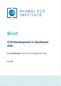 CCS Development in Southeast Asia