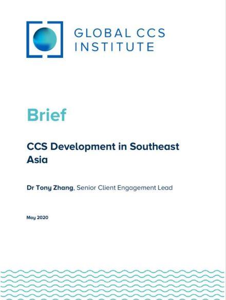 CCS Development in Southeast Asia