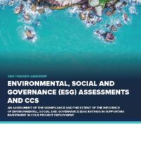 Environmental, Social and Governance (ESG) Assessments and CCS