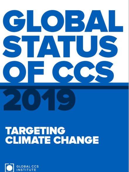 Global Status of CCS Report: 2019