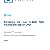 Surveying the U.S. Federal CCS Policy Landscape in 2021