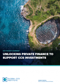 Unlocking Private Finance to Support CCS Investments