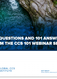 101 Questions and 101 Answers from the CCS 101 Webinar Series