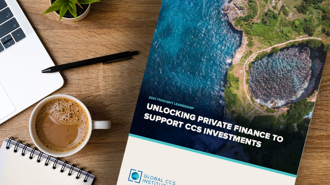 New Report: Unlocking Private Finance to Support CCS Investments