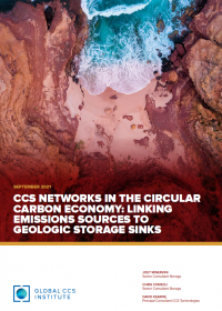 CCS Networks in the Circular Carbon Economy: Linking Emissions Sources to Geologic Storage Sinks